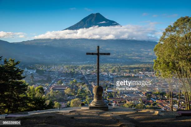antigua - guatemala stock pictures, royalty-free photos & images
