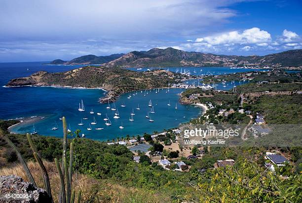 Antigua, View Of English Harbor/nelson's Dockyard.