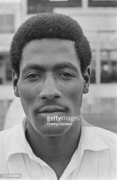 Antiguan cricketer Viv Richards of Somerset County Cricket Club, UK, 29th April 1974.