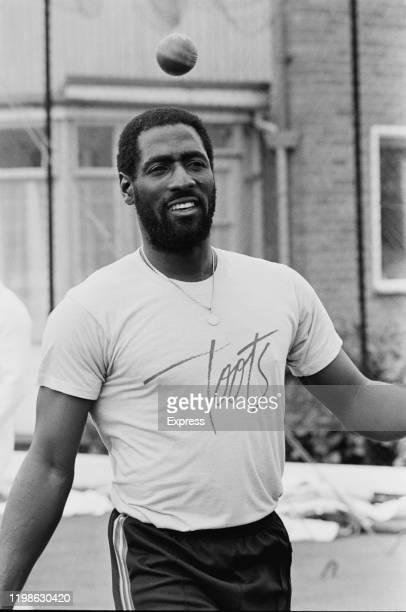 Antiguan cricketer Viv Richards, UK, 14th June 1984.