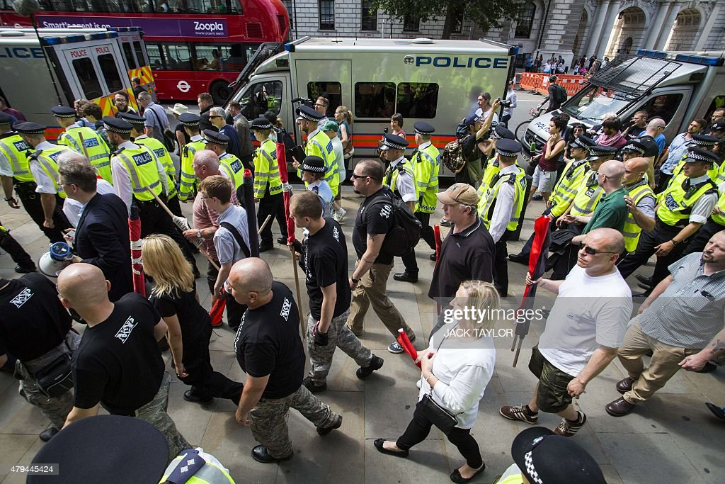 BRITAIN-ANTISEMITISM-PROTEST : News Photo