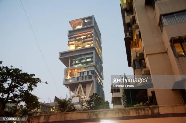 Antilla house of mukesh ambani, Bombay, Mumbai, Maharashtra, India
