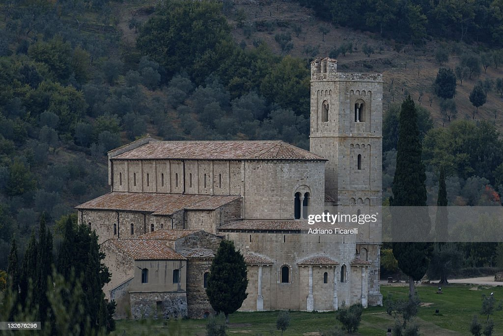 S. Antimo Abbey : Foto stock