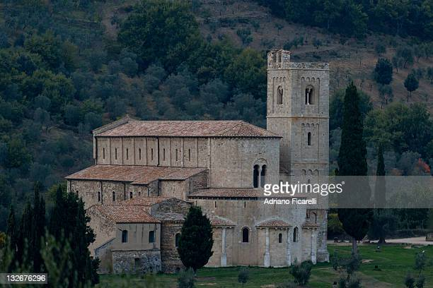 s. antimo abbey - adriano ficarelli stock pictures, royalty-free photos & images