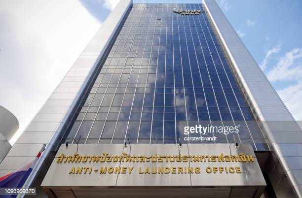 anti-money laundering office in bangkok - money laundering stock photos and pictures