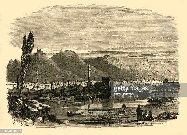 Antioch in Syria' 1890 Antioch ancient Greek city on the Orontes River founded in late 4th century BC by Seleucus I Nicator a general of Alexander...