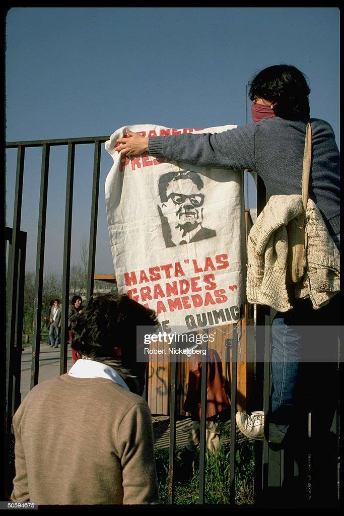 Augusto Pinochet [Misc.] : News Photo