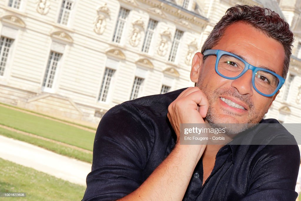 Antiquary and buyer on the show ' affaires conclues ' on France2, Julien Cohen poses during a portrait session in Cheverny, France on .