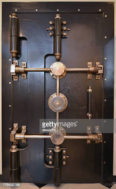 Antique Bank Vault Door