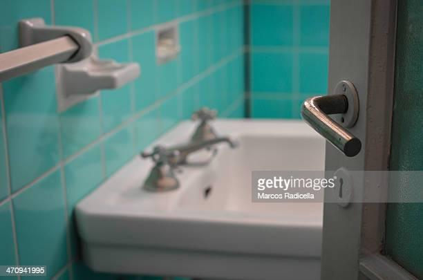 antique bathroom - radicella stock photos and pictures