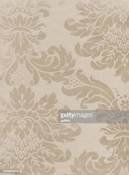 antique textile beige - brocade stock pictures, royalty-free photos & images
