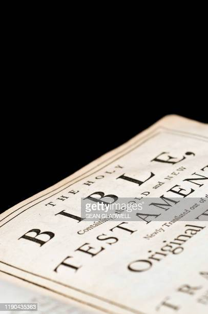 antique bible - bible stock pictures, royalty-free photos & images