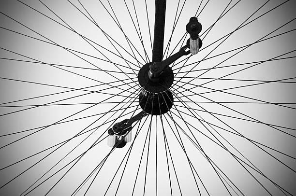 Antique Bike Wheel