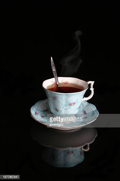 Antique Blue Tea Cup