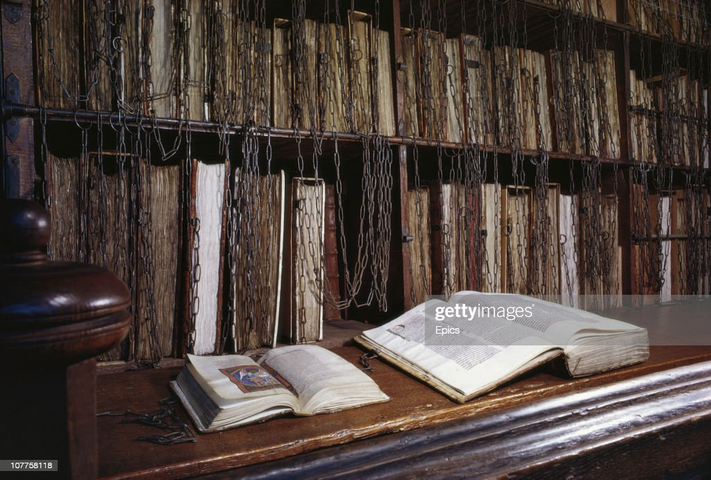 Chained Library : News Photo