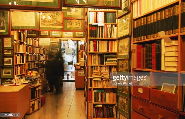 Antique bookshop, Szonyi Antikvarium, Ujlipotvaros.