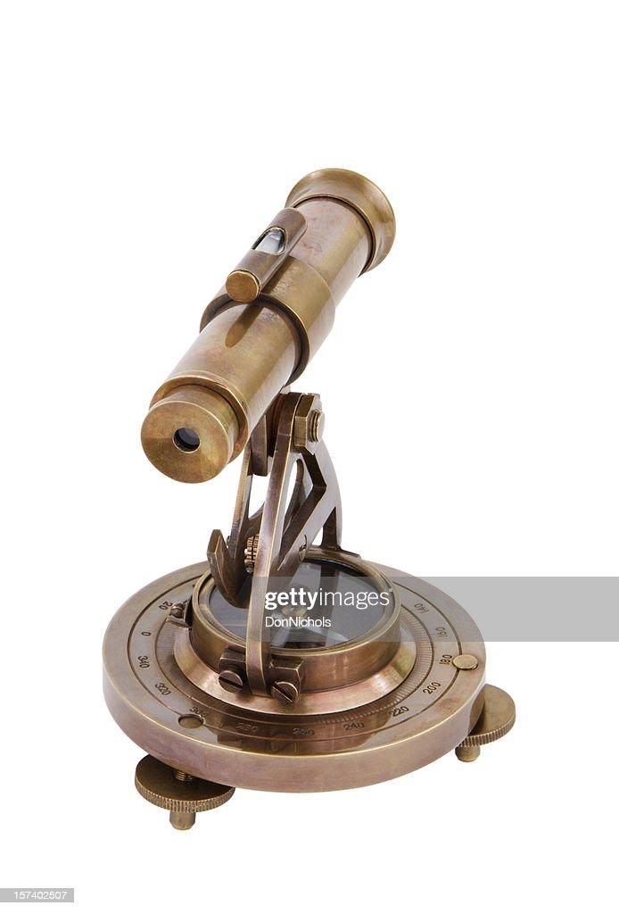 Antique Brass Transit : Stock Photo