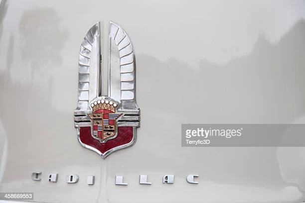 antique cadillac front hood - terryfic3d stock pictures, royalty-free photos & images