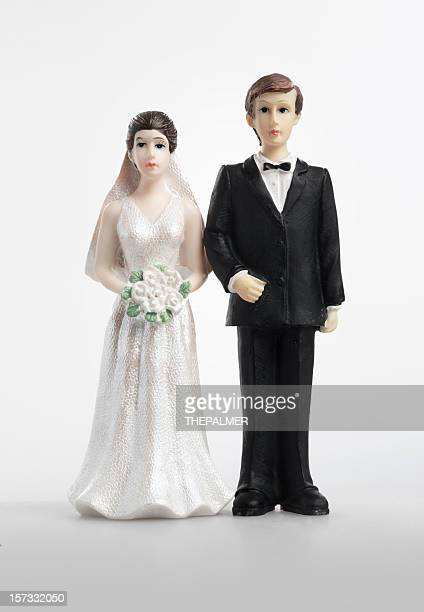 antique cake figurines