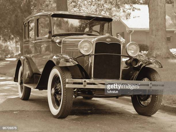 Vintage Car Stock Photos And Pictures Getty Images - Old car photos