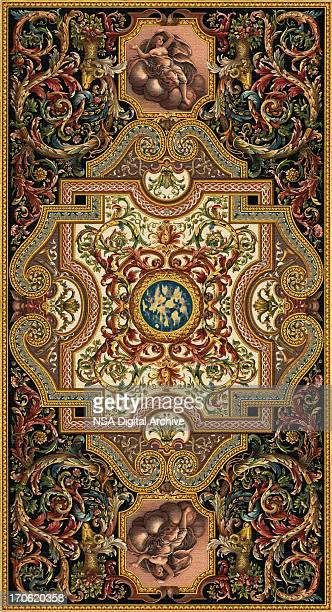 antique carpet - baroque stock pictures, royalty-free photos & images