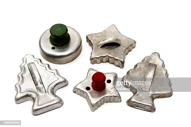 Antique Christmas cookie cutters