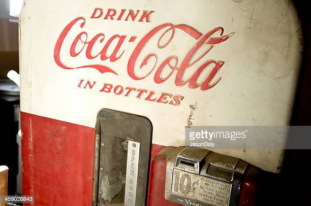 Antique Coca-Cola Vending Machine