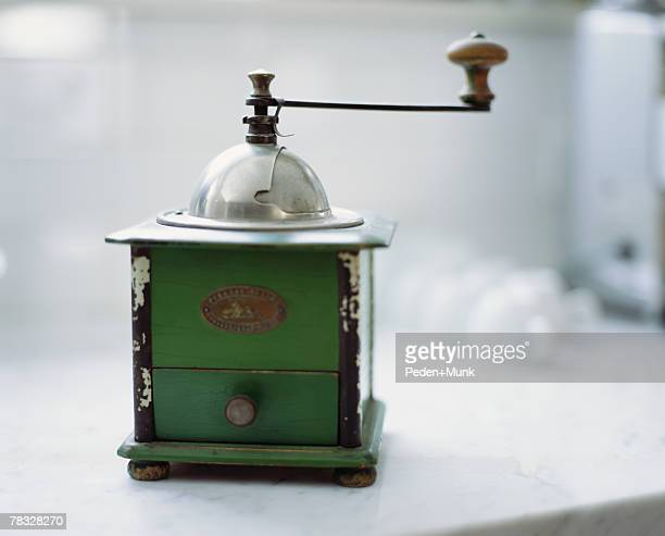 Antique coffee grinder