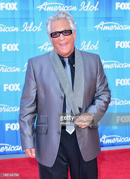 Antique collector Barry Weiss arrives at Fox's American Idol 2012 Finale Results Show at Nokia Theatre LA Live on May 23 2012 in Los Angeles...