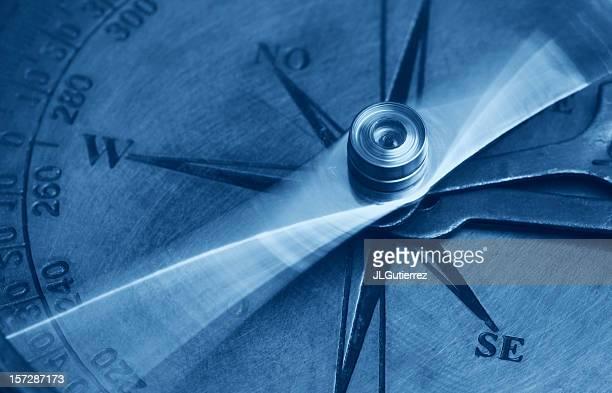 アンティークコンパス - 円形方位図 ストックフォトと画像