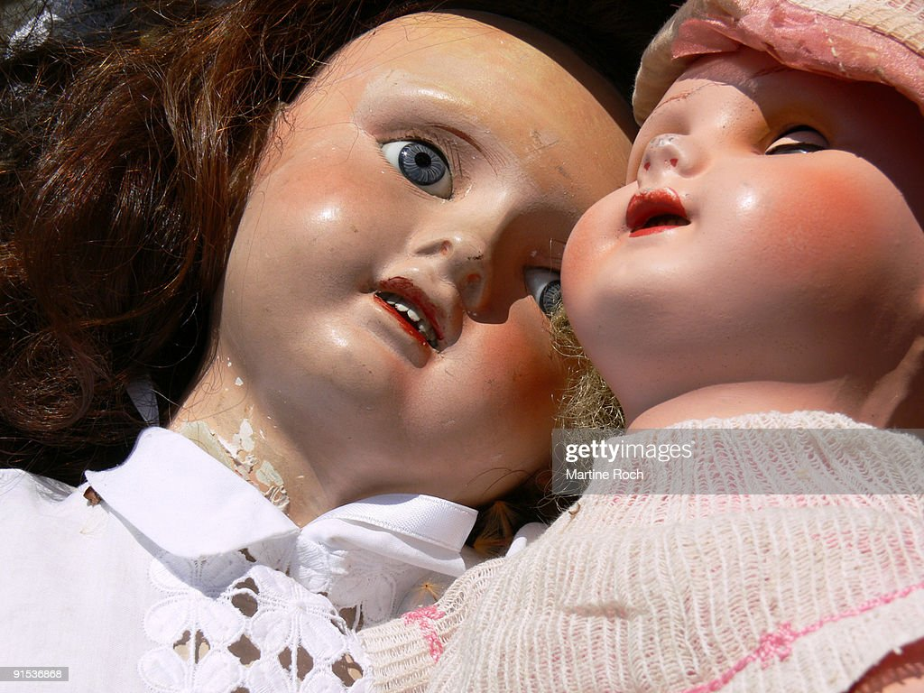 Antique Dolls High-Res Stock Photo - Getty Images