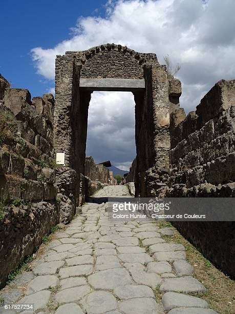 Antique door Pompeii
