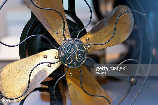 antique electric fan general electric 1905 - general electric stock pictures, royalty-free photos & images