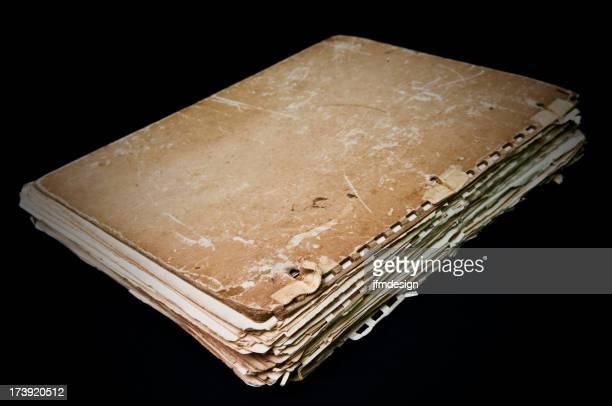 antique file documents