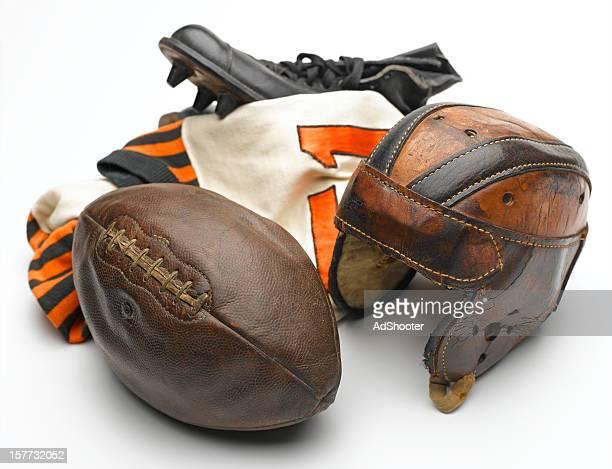 Antique Football Equipment