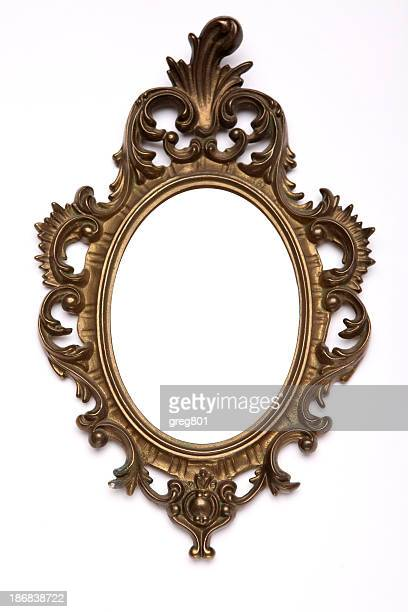 antique frame xxxl - oval shaped objects stock pictures, royalty-free photos & images