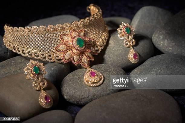 antique jewelry - necklace stock pictures, royalty-free photos & images