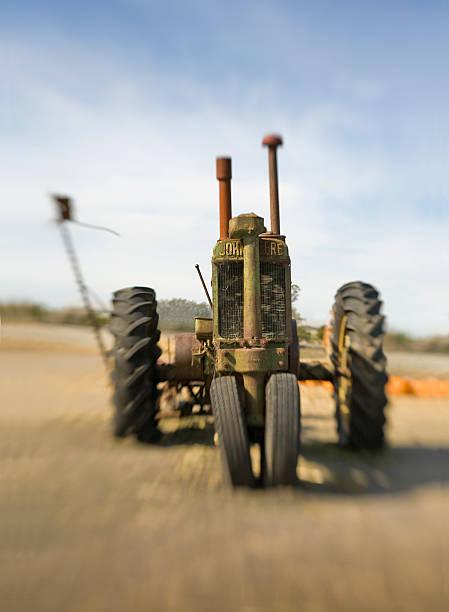 Antique John Deere Tractor, Adobe Farms, Petaluma, California