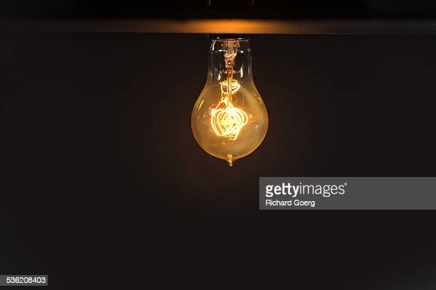Antique light bulb