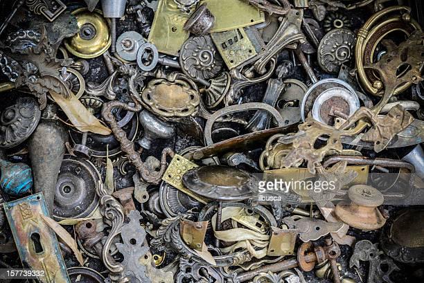 Antique metal parts