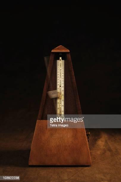 Antique metronome