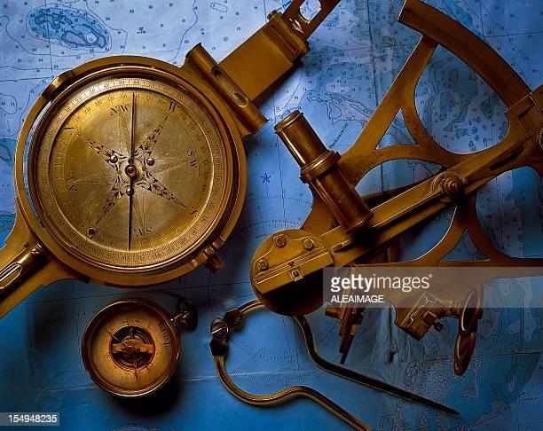 Antiguos instrumentos de navegación