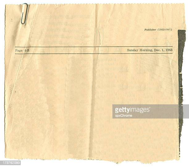 antique newspaper article - article stock pictures, royalty-free photos & images