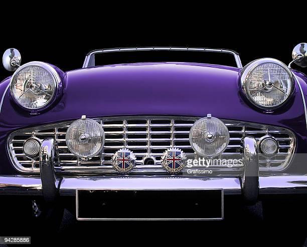 Antique oldtimer Fiat Triumph