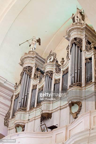 内臓のアンティーク大聖堂の minoris Budslav ,ベラルーシ