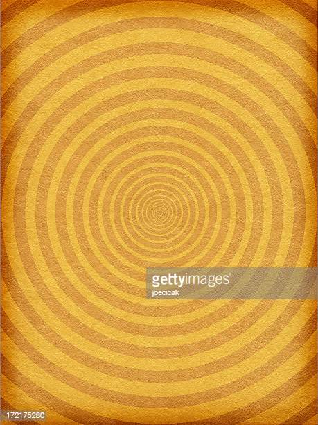 Antique Paper Background with Circle Pattern
