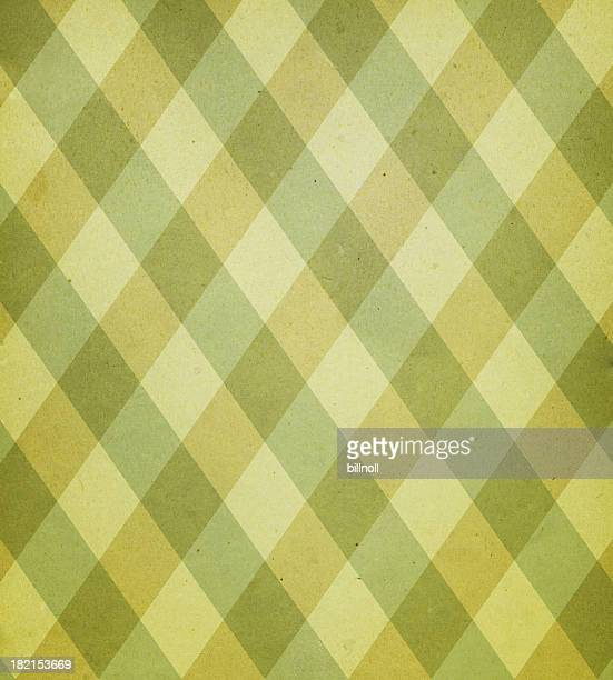antique paper with plaid pattern