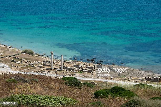 Antique Phoenician town of Tharros, Sardinia