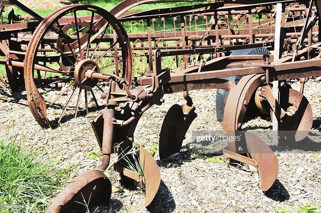 Antique Plow : Stock Photo