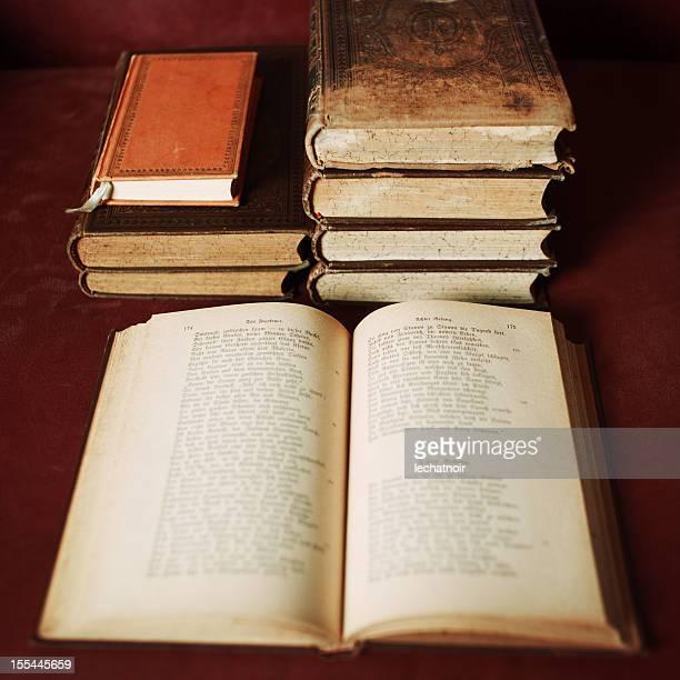Antique poetry books